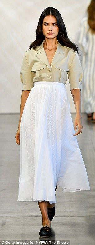 pastels rule the summer 2019 nyfw runways daily mail