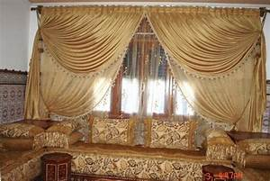 Rideau Moderne Salon : rideaux occultants salon marocain ~ Premium-room.com Idées de Décoration