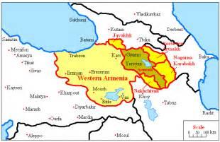 Greater Armenia Map