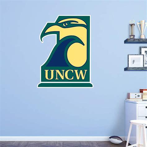 uncw seahawks logo wall decal shop fathead  unc