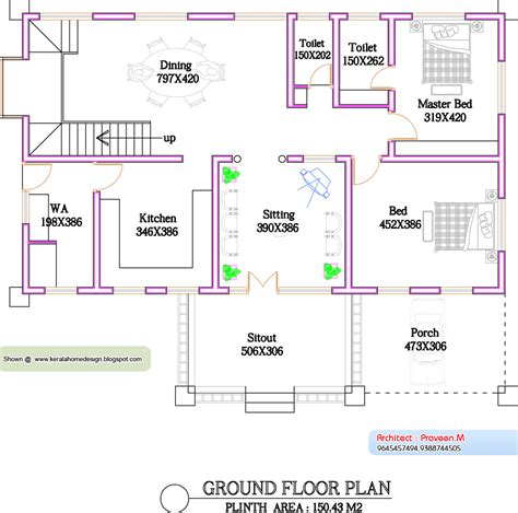 home plan com kerala home plan and elevation 2800 sq ft kerala