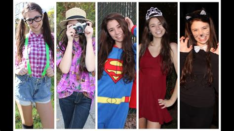 Costumes In Your Closet Ideas by 5 Simple Last Minute Costume Ideas From Your