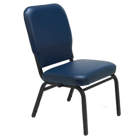 kfi seating wing back oversized padded stack chair