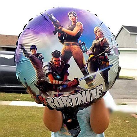 fortnite birthday balloons pcs  latex   foil