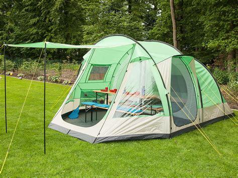 tente familiale 2 chambres skandika lyon 5 berth family tunnel tent sewn in