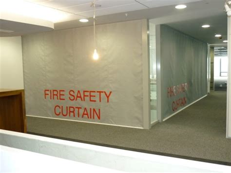 sd60gs 1hr protective smoke curtain with egress