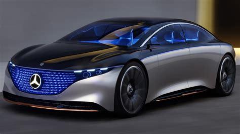 Mercedes Benz Vision Eqs 2019 4k Wallpaper Hd Car