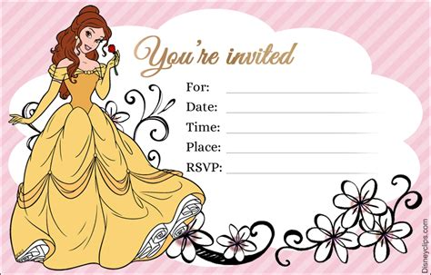 disney princess belle printables disneyclipscom