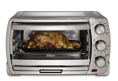 oster digital countertop oven with convection oster tssttvsk01 large capacity countertop 6 slice