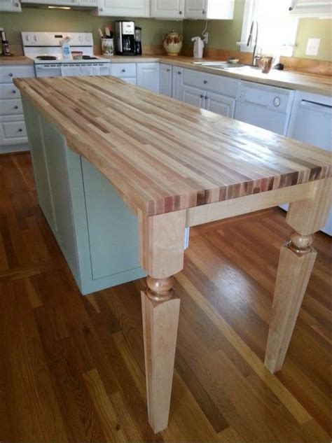 butcher block kitchen island breakfast bar furniture chic kitchen island wood posts for breakfast bar 9340