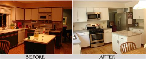chalk paint on laminate kitchen cabinets painting formica cabinets before and after pictures