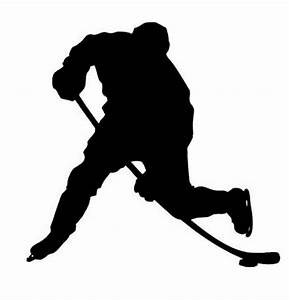 Hockey Silhouette Clipart - Clipart Suggest