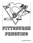 Pittsburgh Penguins Coloring Sheets Free Coloring Pages