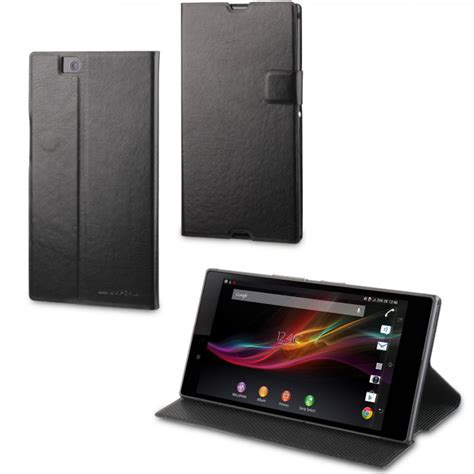 housse pour sony xperia z ultra made for xperia etui stick n stand noir pour sony xperia z ultra