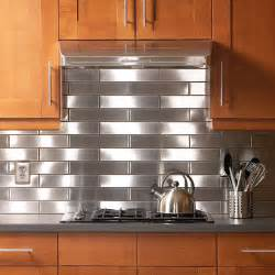 stainless steel kitchen backsplash decoist - Steel Backsplash Kitchen