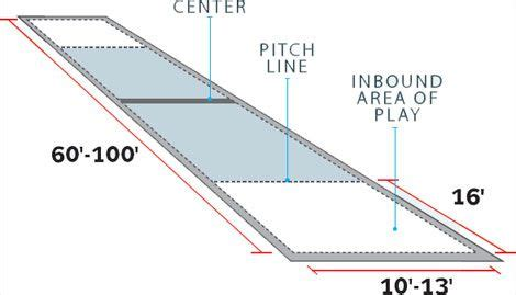 Backyard Bocce Court Dimensions by Bocce Plans Let S Play