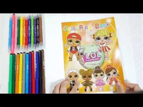 coloring book lol surprisepaginas  coloreardibuja  colorea  las munecas lolpara ninos