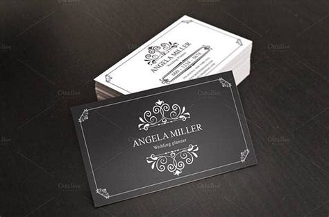 vintage business card templates ai ms word