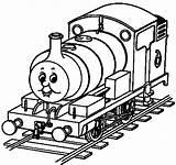 Train Coloring Thomas Tank Transports Treni Friends Engine Colorare Theme Desenhos Colorir Clipart Detailed Trens Immagini Rain Playing Collezione Simple sketch template