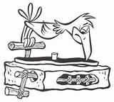 Flintstones Record Player Cartoon Vinyl Music Dj Powsley sketch template