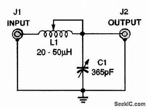 Simple Antenna Tuner - Basic Circuit - Circuit Diagram