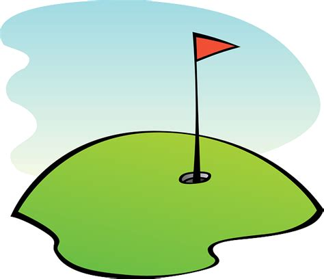 Golf Clip Free Vector Graphic Golf Course Golfing Lawn Grass