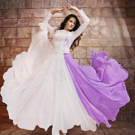 stylish ready  wear anarkali frocks  young girls  natasha couture    trend