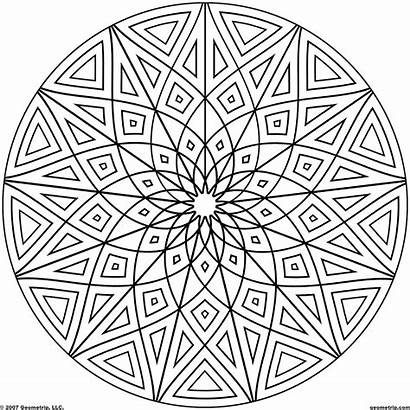 Coloring Pages Hard Pokemon Cool Geometric Printable