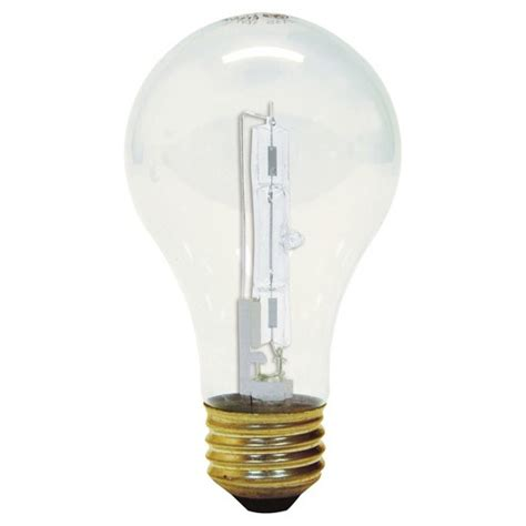 ge 100 watt energy efficient halogen light bulb 2 pack