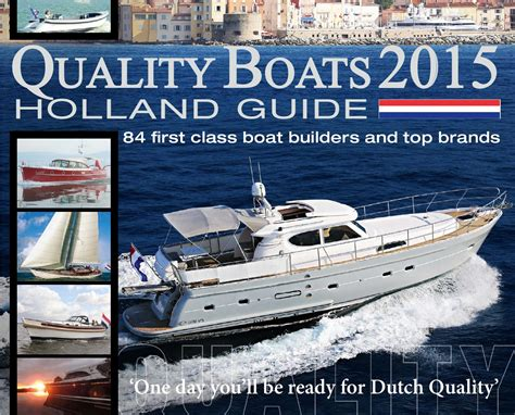 The Open Boat Tone by Quality Boats Guide 2015 By Quality Boats