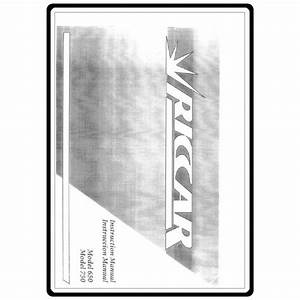 Instruction Manual  Riccar 750   Sewing Parts Online