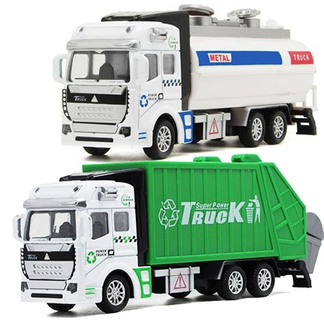 Buy 20cm Toys Vehicles Garbage Truck