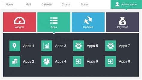 home plans designs data dashboard apps menu slide slidemodel