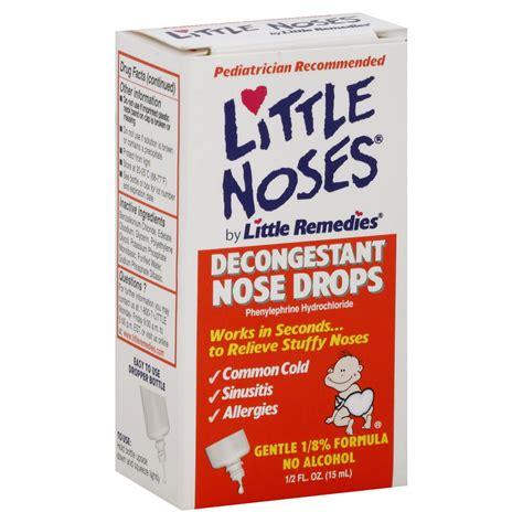 Little Noses Decongestant Nose Drops Pediatric Formula 0