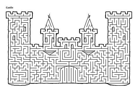 printable mazes  adults  activity