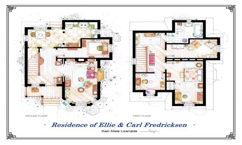disney pixar  house  house floor plan show house plans treesranchcom