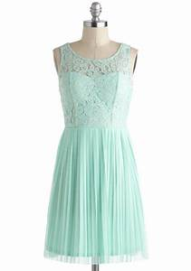 Short mint bridesmaid dress with lace illusion neckline for Mint dresses for wedding