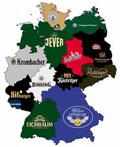 Wie Weit Ist Nordrhein Westfalen Von Bayern Entfernt : bierrepublik deutschland eine karte mit dem bekanntesten ~ Articles-book.com Haus und Dekorationen