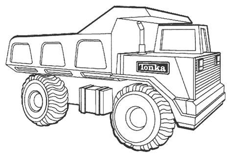 tonka dump truck printable coloring page ecoloringpagecom printable coloring pages