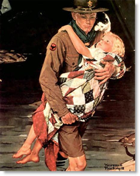 Norman Rockwell Scout Paintings