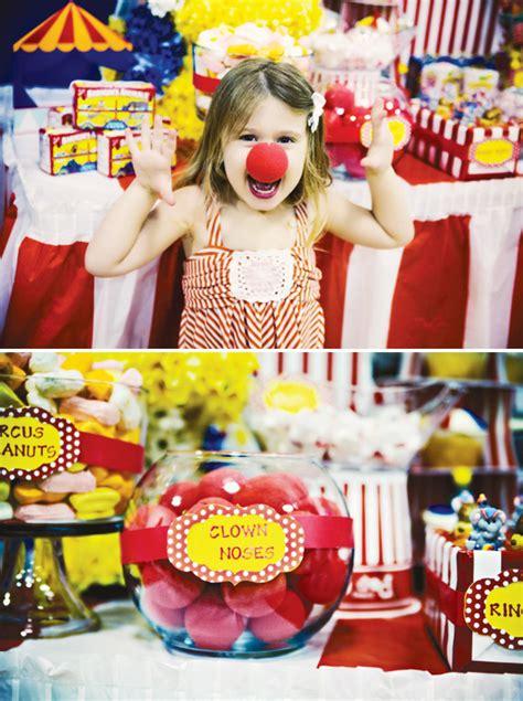 carnival  dreams circus party ideas hostess