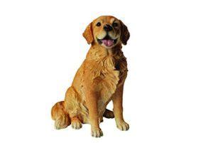 Garten Deko Hund by Garten Deko Hund Golden Retriever Sitzend