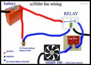 S13 Electric Fan Wiring Diagram