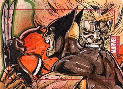Sabretooth And Wolverine On Sabretooth-fans