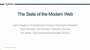Learn Key Insights from the State of the Modern Web ...