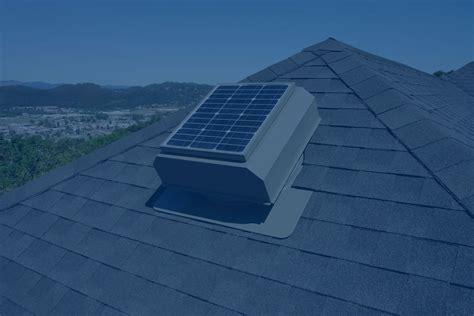 solar breeze attic fan attic breeze solar attic fans
