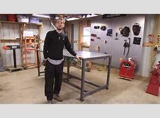 BleepinJeep Builds a Welding Table YouTube