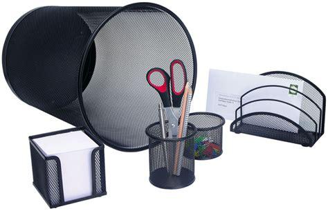 cadeau pour bureau wedo set de bureau 39 office 39 en fil métallique noir achat vente wedo 61021142