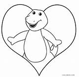Barney Coloring Pages Printable Halloween Birthday Dinosaur Friends Sheets Cool2bkids Happy Friendship Books Easter Template sketch template