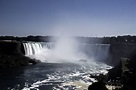 Full View of Horseshoe Falls at Niagara Falls, Ontario ...